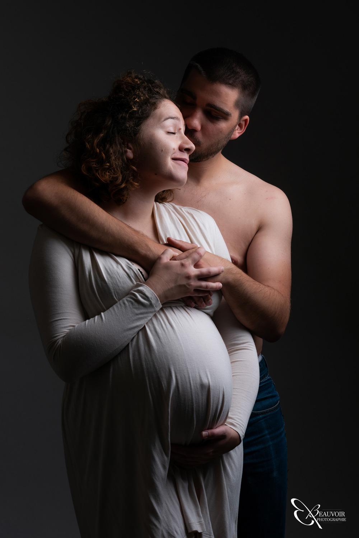 Seance photo grossesse par Beauvoir Photographie à Chambéry